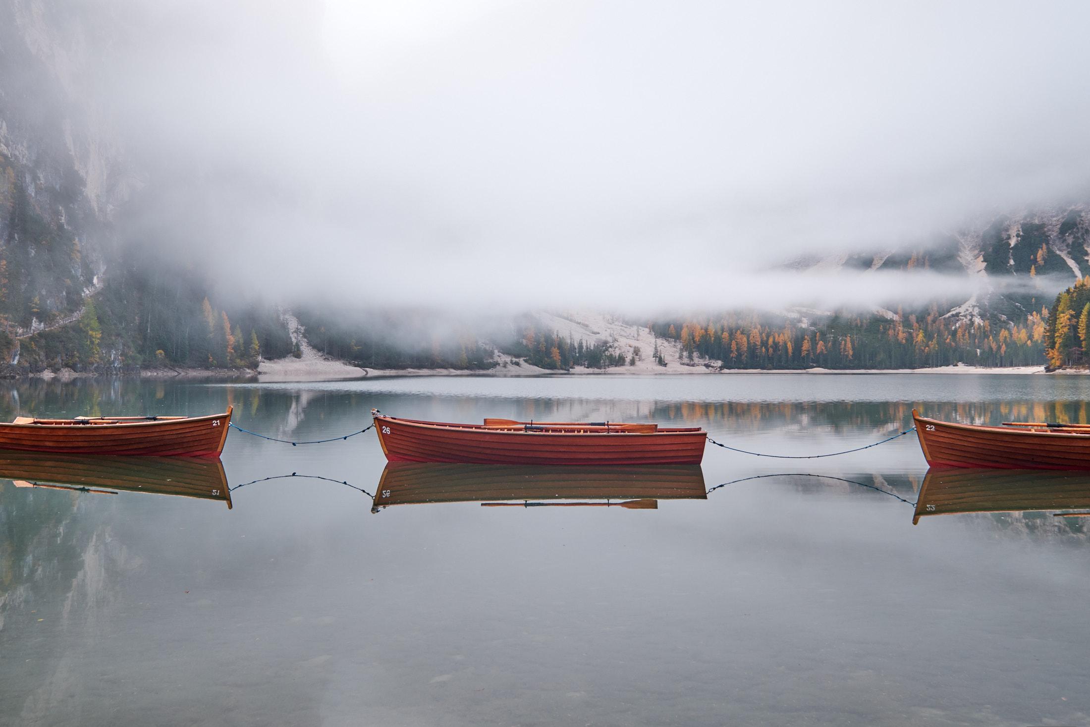 Доломитовые Альпы. Озеро Брайес. 2019.